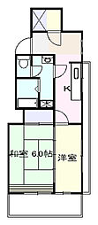 石川ビル[503号室]の間取り