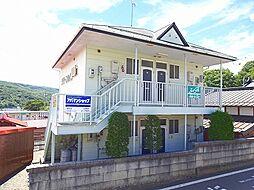 長野県岡谷市川岸上3丁目の賃貸アパートの外観