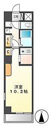 レベント覚王山[3階]の間取り