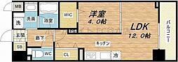 ビビアンパレス桜川公園[3階]の間取り