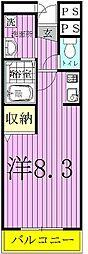 セルフィール江戸川台[4階]の間取り