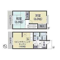 [テラスハウス] 埼玉県さいたま市北区東大成町2丁目 の賃貸【/】の間取り