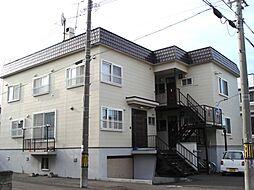 北海道札幌市東区北二十二条東9丁目の賃貸アパートの外観