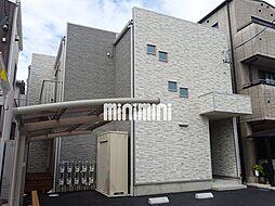 静岡県静岡市駿河区小黒1の賃貸アパートの外観
