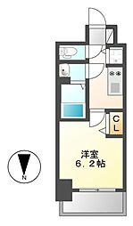 プレサンス丸の内城雅[7階]の間取り