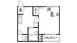soleado M.M[3階]の間取り