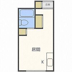 エクセレントハウス725[3階]の間取り