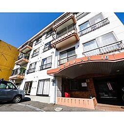 北海道札幌市中央区南七条西18丁目の賃貸マンションの外観