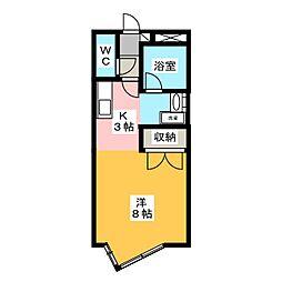ホライズンプレイス[2階]の間取り