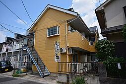 埼玉県越谷市千間台東2丁目の賃貸アパートの外観