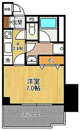 フルール西宮北口[4階]の間取り