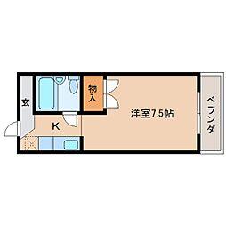 静岡県静岡市清水区三光町の賃貸マンションの間取り