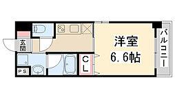 キセラコートWAKO[101号室]の間取り