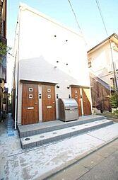 東京都足立区本木西町の賃貸アパートの外観