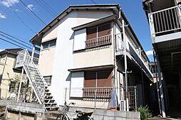 千葉県市川市稲荷木3丁目の賃貸アパートの外観