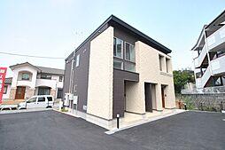 福岡県久留米市山川追分1丁目の賃貸アパートの外観