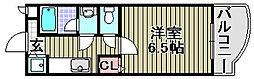 ロンシャン[2階]の間取り