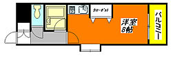 布施・オーク・5 701号室[7階]の間取り