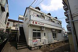 埼玉県春日部市千間1丁目の賃貸アパートの外観