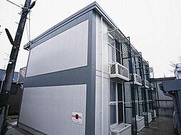 千葉県松戸市秋山の賃貸アパートの外観