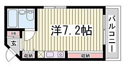 アコーズタワー神戸イースト[5階]の間取り