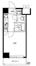 ルーブル北新宿[810号室号室]の間取り