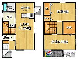 [一戸建] 福岡県福岡市東区高美台1丁目 の賃貸【/】の間取り