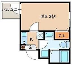 ピアコートTM大山弐番館[2階]の間取り