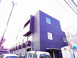 東京都東久留米市下里2丁目の賃貸マンションの外観