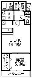 フジパレストゥインクル[2階]の間取り