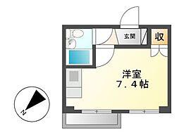 千代田ヒルズ[5階]の間取り