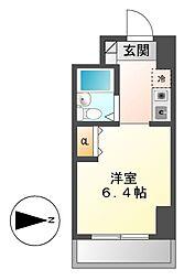 シティパル名古屋[5階]の間取り