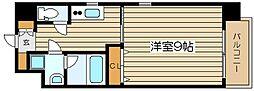 レジュールアッシュJUSO[9階]の間取り