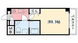 セレニテ甲子園[1-516号室]の間取り