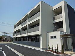 岡山県岡山市南区当新田の賃貸マンションの外観