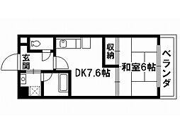クレマチス28[4階]の間取り