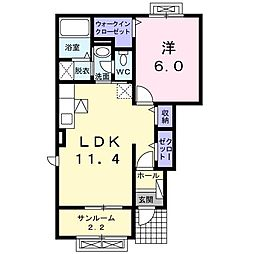 BOX32III[0101号室]の間取り