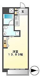 レジディア東桜II[10階]の間取り
