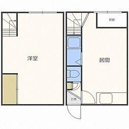 キャッスルホワイト7[2階]の間取り