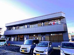 埼玉県狭山市広瀬東1丁目の賃貸アパートの外観
