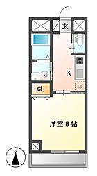 BERG IZUMI(ベルグイズミ)[5階]の間取り