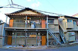 大阪府吹田市高浜町の賃貸アパートの外観