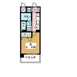 東桜コート[3階]の間取り