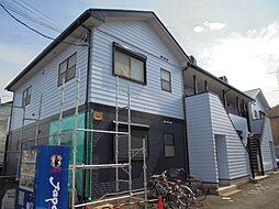 東京都日野市新町4丁目の賃貸アパートの外観