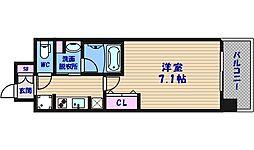 コンフォリア心斎橋EAST[10階]の間取り
