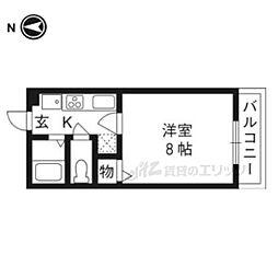 丹波口駅 4.7万円