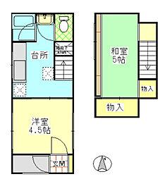 スペース マルーン[3号室号室]の間取り