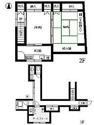 [一戸建] 東京都中野区鷺宮4丁目 の賃貸【/】の間取り
