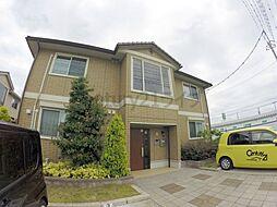 兵庫県伊丹市中野東2丁目の賃貸アパートの外観