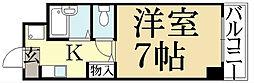 ノースビューヤサカ[3階]の間取り